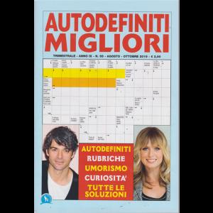 Autodefiniti Migliori - n. 55 - trimestrale - agosto - ottobre 2019 -