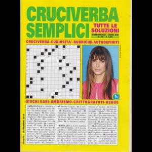 Cruciverba Semplici - n. 89 - bimestrale - agosto - settembre 2019 -