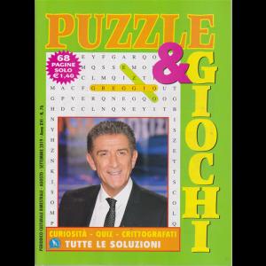 Puzzle  E  Giochi - n. 76 - bimestrale - agosto - settembre 2019 - 68 pagine - Ezio Greggio