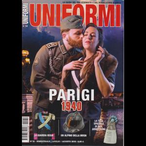 Uniformi - n. 32 - bimestrale - luglio - agosto 2019 -