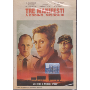 I Dvd Fiction Sorrisi 2 - n. 10 - Tre manifesti a Ebbing, Missouri - settimanale -