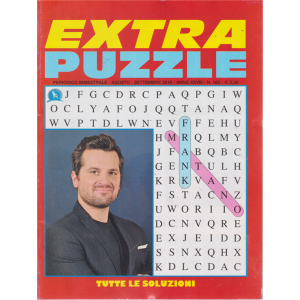 Extra Puzzle - n. 165 - bimestrale - agosto - settembre 2019 -