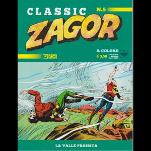 Zagor Classic - La Valle Proibita - n. 5 - luglio 2019 - mensile