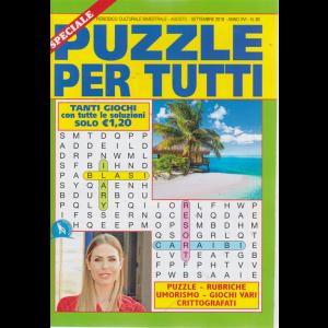 Speciale Puzzle Per tutti - n. 93 - bimestrale - agosto - settembre 2019 -