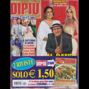 Settimanale Dipiu'+ - Dipiu' Cucina - n. 28- 19 luglio 2019 - 2 riviste