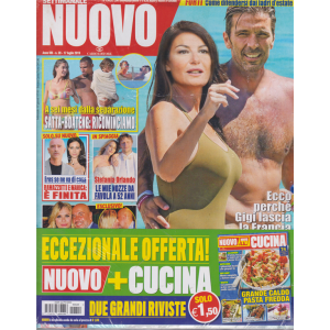 Settimanale Nuovo + - Nuovo Cucina - n. 28 - 17 luglio 2019 - 2 riviste