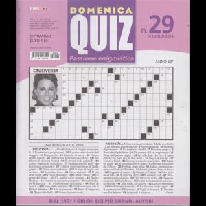 Domenica Quiz - n. 29 - settimanale - 18 luglio 2019