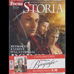Focus Storia  + Focus storia biografie - n. 154 - agosto 2019 - 2 riviste