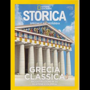 National Geographic - Storica - speciale archeologia - Grecia classica - Ricostruzioni in 3 D di Atene e Olimpia - n. 4 - luglio 2019 - bimestrale