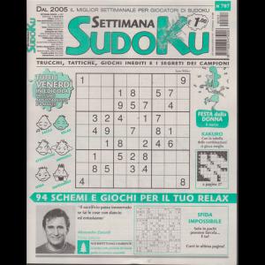Settimana sudoku - n. 707 - settimanale - 1 marzo 2019 -