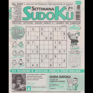 Settimana sudoku - n. 727 - settimanale - 19 luglio 2019 -