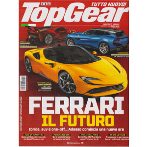 Top Gear - n. 141 - mensile - agosto 2019