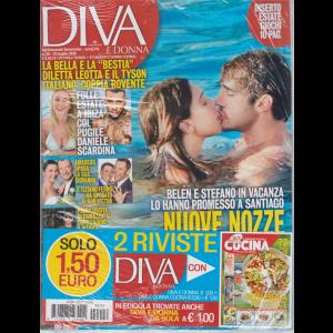 Diva E Donna+ - Cucina - n. 29 - 23 luglio 2019 - settimanale femminile - 2 riviste