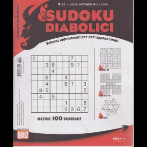 Solo Sudoku Diabolici - n. 22 - luglio -settembre 2019 - trimestrale -