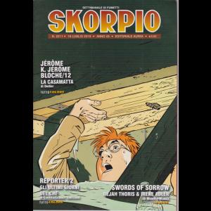 Skorpio - n. 2211 - 18 luglio 2019 - settimanale di fumetti