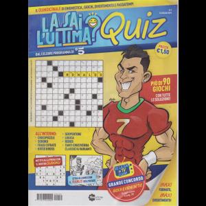 La sai l'ultima? Quiz - n. 3 - 16 luglio 2019 - quindicinale