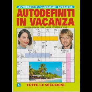 Autodefiniti In Vacanza - n. 280 - agosto - ottobre 2019