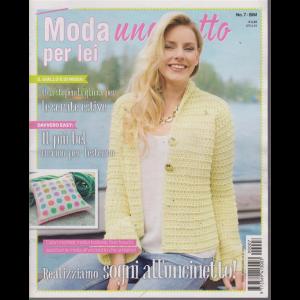 Moda Uncinetto Per Lei - n. 7 - bimestrale - 18/7/2019