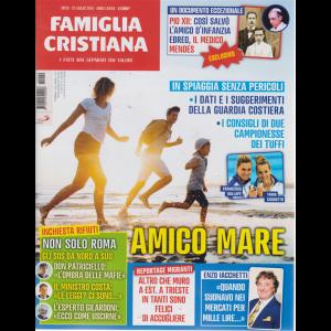 Famiglia Cristiana -n. 29 - 21 luglio 2019 - settimanale