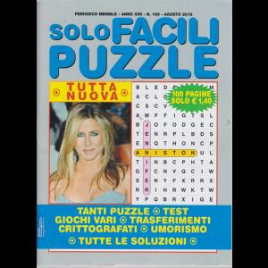 Solo Facili Puzzle - n. 189 - mensile - agosto 2019 - 100 pagine