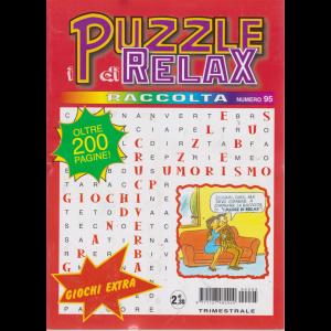 Raccolta i puzzle di Relax - n. 95 - trimestrale - luglio - settembre 2019 - oltre 200 pagine!
