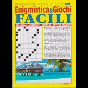 Enigmistica E Giochi facili - n. 1 - bimestrale - agosto - settembre 2019 -