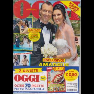 Oggi + Oggi cucino - n. 29 - 25/7/2019 - settimanale - 2 riviste
