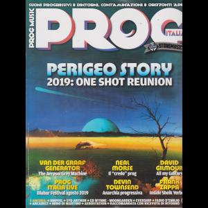 Prog Music - n. 25 - bimestrale - luglio -agosto 2019 -