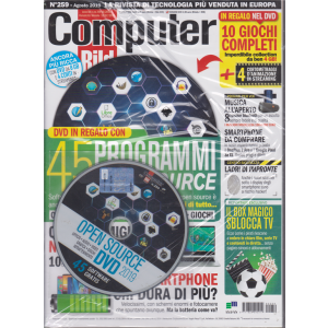 Computer Bild + Dvd - n. 259 - agosto 2019 - mensile