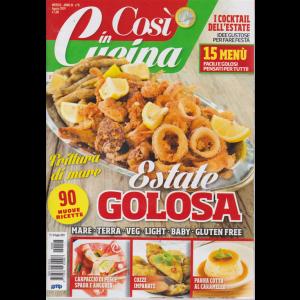 Cosi' In Cucina - n. 8 - mensile - agosto 2019 -