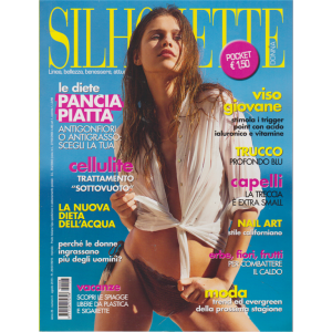 Silhouette donna pocket - n. 8 - agosto 20019 - mensile