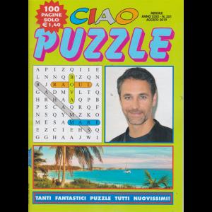 Ciao puzzle - n. 351 - mensile - agosto 2019 - 100 pagine
