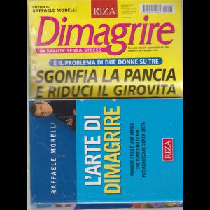 Dimagrire + il libro di Raffaele Morelli - L'arte di dimagrire - n. 208 - mensile - agosto 2019 - rivista + libro