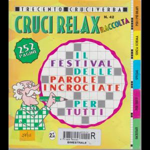 Raccolta crucirelax - n. 42 - bimestrale - 252 pagine - 300 cruciverba