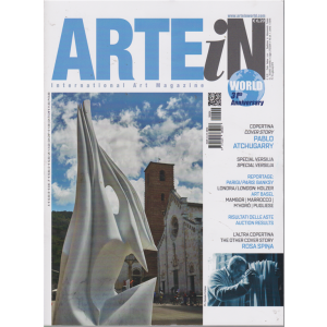 Arte In world - n. 4 - luglio - agosto 2019 -