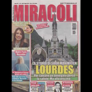 Miracoli - n. 19 - dal 23 luglio 2019 - settimanale