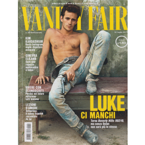 Vanity Fair  - n. 30 - settimanale - 31 luglio 2019 -