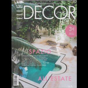 Elle Decor - n. 8 - luglio - agosto - 2019 - mensile
