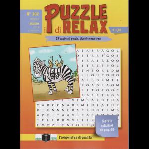 I Puzzle Di Relax - n. 302 - mensile - agosto 2019 -