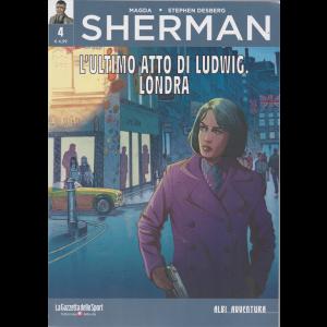Albi Avventura - Sherman - L'ultimo atto di Ludwig. Londra - n. 4 - settimanale -