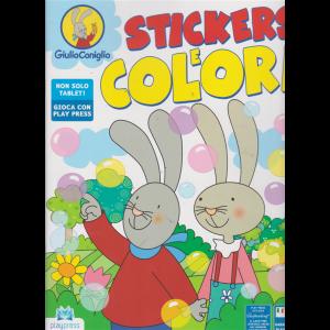 Giulio Coniglio stickers e colori - n. 3 - agosto - settembre 2019 - bimestrale -