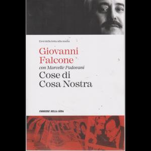 Eroi della lotta alla mafia - Giovanni Falcone con Marcelle Padovani - Cose di Cosa Nostra - n. 2 - settimanale -