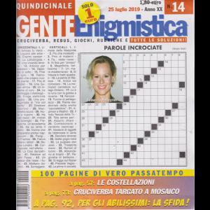 Gente Enigmistica -n. 14 - 25 luglio 2019 - quindicinale - 100 pagine di vero passatempo