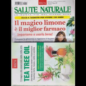 Salute naturale - + il libro Tea tree oil - n. 244 - mensile - agosto 2019 - rivista + libro