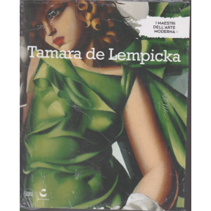 I maestri dell'arte moderna - Tamara de Lempicka - n. 28 - settimanale - 20/7/2019