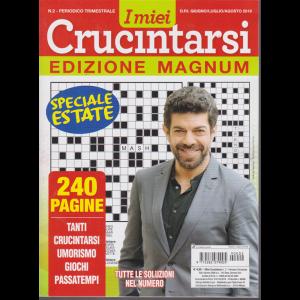 I Miei Crucintarsi - edizione magnum - n. 2 - trimestrale - giugno - luglio -agosto 2019 - speciale estate - 240 pagine
