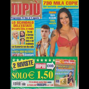 Settimanale Dipiu'+ - Stellare - n. 30 - 2 agosto 2019 - 2 riviste