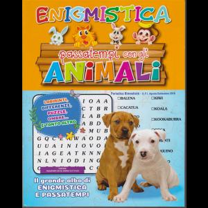 Enigmistica passatempi con gli animali - n. 32 - bimestrale - agosto - settembre 2019 -
