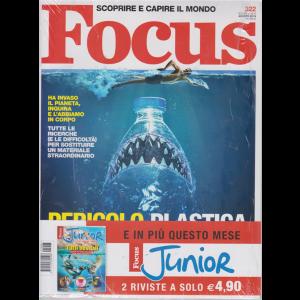 Focus + Focus Junior - n. 322 - agosto 2019 - mensile - 2 riviste