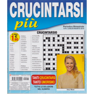 Abbonamento Crucintarsi Più (cartaceo  bimestrale)